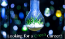 looking for a green career